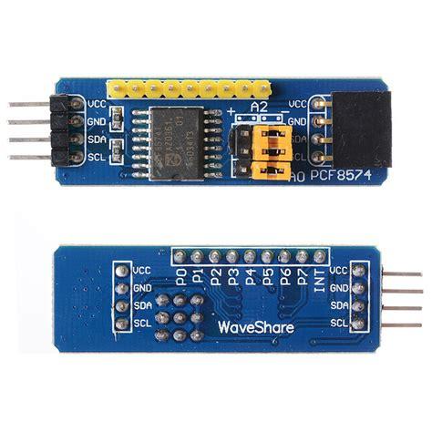 arduino i2c tutorial pdf pcf8574 pcf8574t i2c 8 bit io gpio expander module for