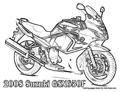 coloring pages of cars and motorcycles free motorcycle coloring page letscoloringpages 2008