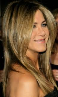 what color are aniston s aniston hair color highlights http