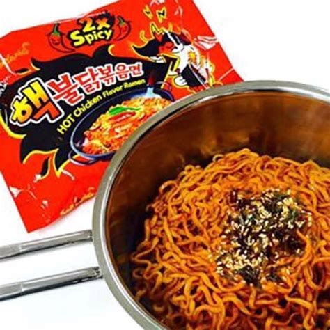 Md Samyang 2x Spicy Spicy 2x samyang korean spicy noodle food drinks instant