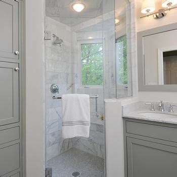 gray framed bathroom mirror design ideas