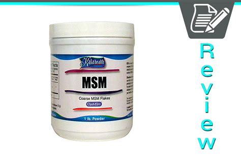 Msm Detox Side Effects by Kala Health Msm Powder Review Supplement