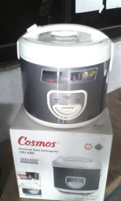 Rice Cooker Anti Gores jual beli rice cooker cosmos crj 680 harmond anti