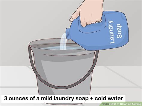 awning cleaning solution 3 ways to clean an awning wikihow