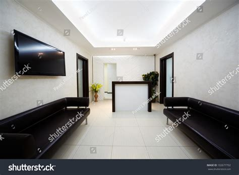 what black hair salon that was on tv hallway beauty salon two black leather stock photo
