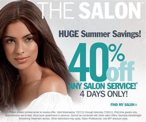 haircut at ulta coupon save 40 on any salon service at ulta freebies2deals