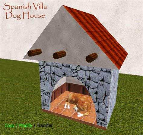 dog house in spanish second life marketplace comfy spanish villa dog house doghouse