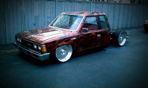 bagged nissan 720 1985 nissan 720 4 500 or best offer 100475318 custom