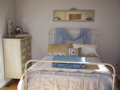 blue cream bedroom piney rose vintage blue and cream bedroom