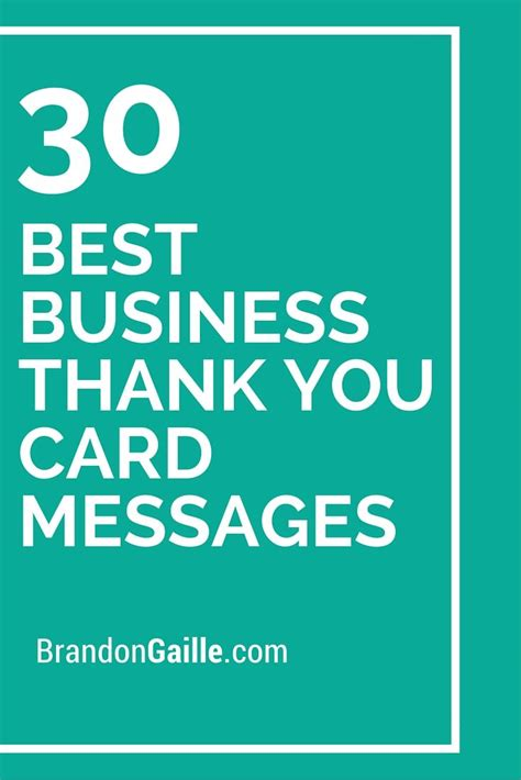 best for business 31 best business thank you card messages messages and