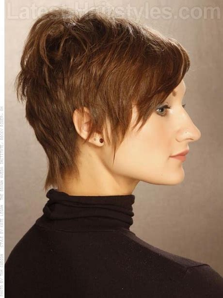 feathered pixie cuts short feathered haircuts