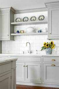 Kitchen Closets And Cabinets Custom Kitchen With Gray Cabinets Home Bunch Interior