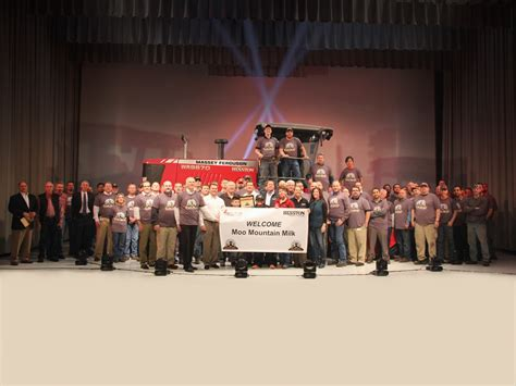 design manufacturing hesston ks agco s swather factory hits a milestone grainews