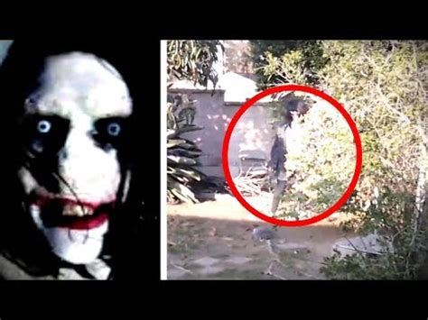 5 real life creepypasta characters caught on camera youtube