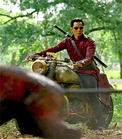 motorcycle from into the badlands amc ventures into the badlands with bold new series burntx