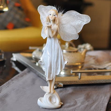 angel decorations for home bealife fairy angel creative home decor home decoration