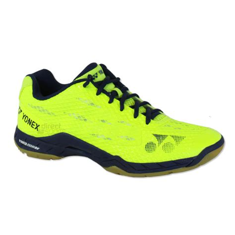 Sepatu Badminton Non Marking yonex power cushion aerus mens badminton shoes yellow