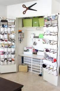 sewing closet creative spaces