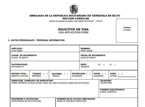 formulario planilla de contribucion 2015 download pdf esta es la planilla para solicitar la visa para venezuela