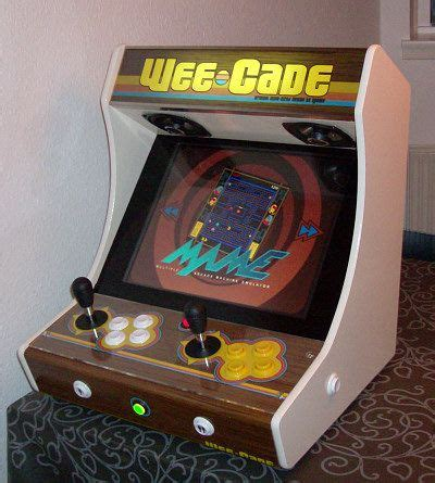 your own mame cabinet project mame and weecade build your own mame cabinet