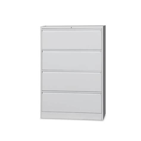 Lateral Filing Cabinets Krost Business Furniture 4 Drawer Lateral Filing Cabinet