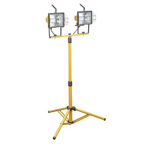 1000 watt twin l halogen floodlight