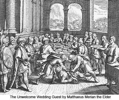parable of the dinner parable of the marriage feast