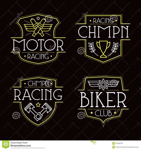 t shirt design background racing badges for t shirt stock vector illustration of