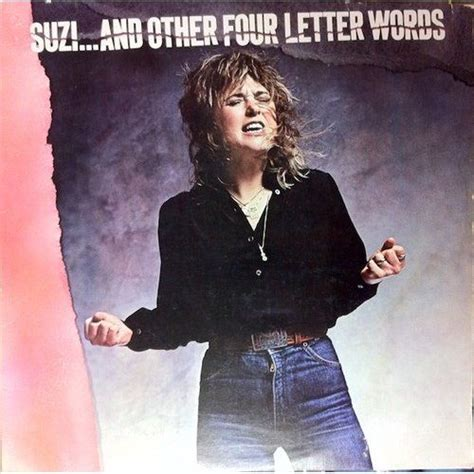 is a four letter word album cover suzi and other four letter words suzi quatro mp3 buy