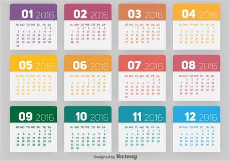 Calendã 2016 Pdf Portugal 2016 Calendar Free Vector Stock Graphics