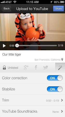 how to upload your videos to youtube from your iphone or