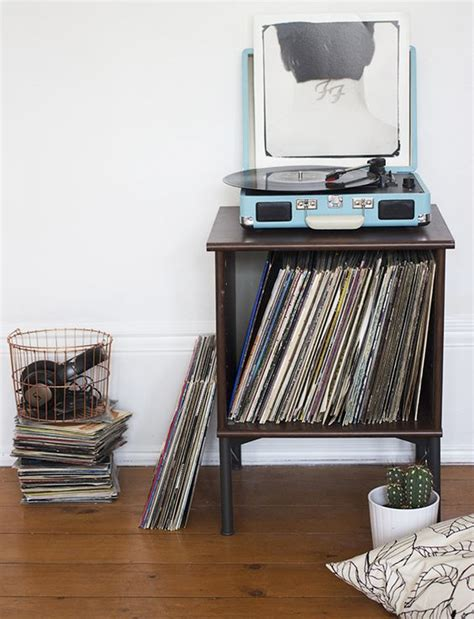 record player cabinet ikea record player ikea hacks and record player stand on pinterest