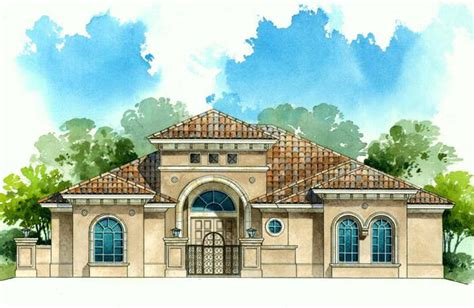 Architectural House Styles elevation architectural rendering styles