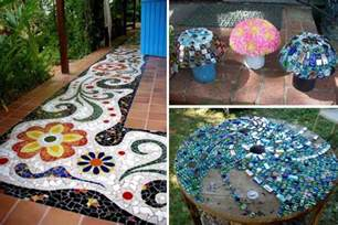 Vase With Marbles 28 Stunning Mosaic Projects For Your Garden Architecture