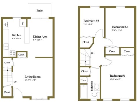 1 floor apartments in hanover pa floor plans of yorktowne townhomes in hanover pa