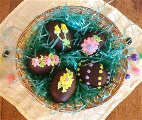 Handmade Chocolate Easter Eggs - chocolate eggs are a real easter treat