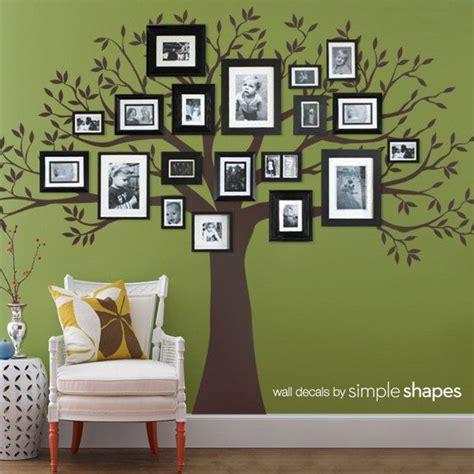 flur gestalten familie die besten 25 stammbaumwand ideen auf