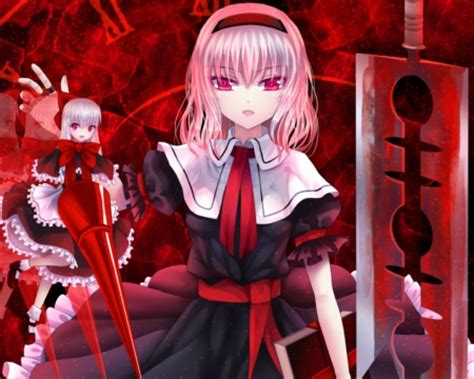 scary evil anime girls red evil other anime background wallpapers on desktop
