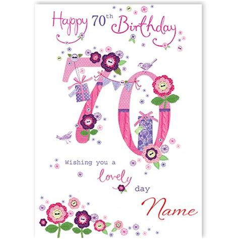 70th birthday card templates free 70th birthday spacehippo cards