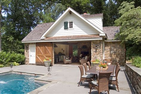 pool house garage pole barn house plans exterior farmhouse with farm house barn