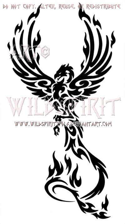 tribal tattoo phoenix 25 best ideas about on