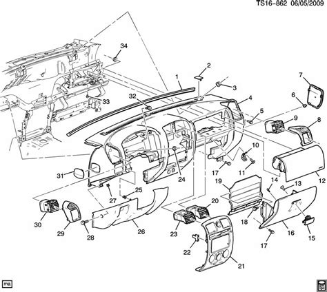 Instrument Panel Amp Related Parts Part 1 Chevrolet