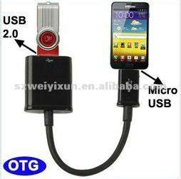 Kabel Data Advance Dc011 100 Otg samsung galaxy s2 note usb otg host cable adapter