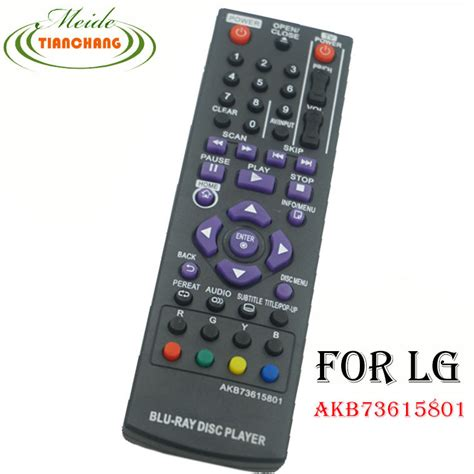 Remote Dvd Bluray Lg remote for lg disc player remote akb73615801 bp320 bp200 bp325w in