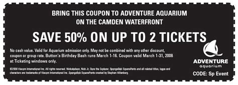 nj state aquarium camden coupons