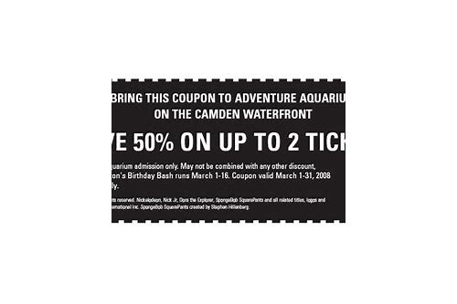 camden aquarium coupons aaa