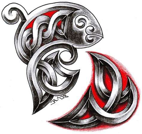 celtic pisces tattoo designs celtic tattoos and designs page 360