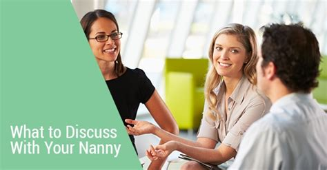 Things Not To Discuss On A Date by Three Things You Should Discuss With Your New Nanny