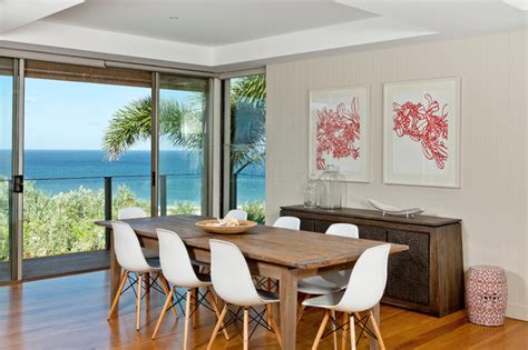 house contemporary dining room brisbane by