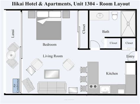ilikai hotel floor plan ilikai hotel condo 1304 1 bedroom view condo oahu